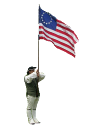 Cologuard holding the American Flag