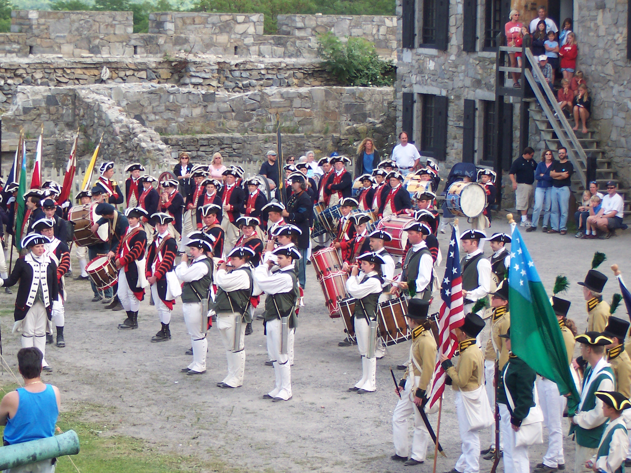 CCFDC at Fort Ticonderoga