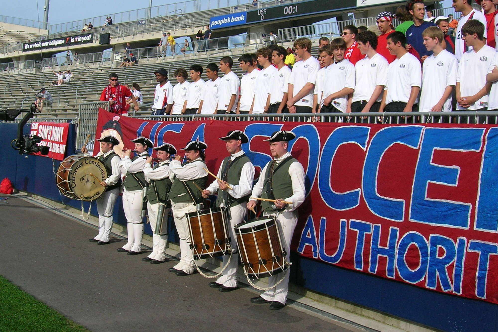 CCFDC at US Soccer Match